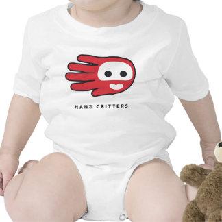 Mono de la camiseta del bebé del amor