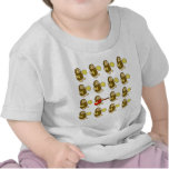 Mono de la guitarra camisetas
