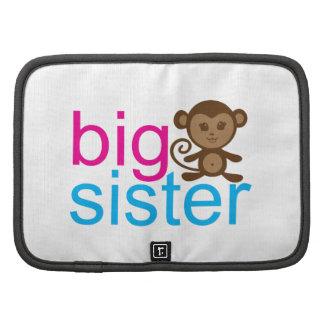 Mono de la hermana grande planificador