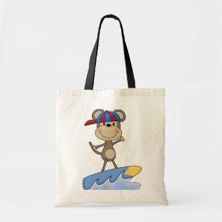 Mono de la playa - camisetas y regalos que practic bolsa tela barata