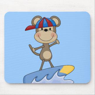 Mono de la playa - camisetas y regalos que practic alfombrillas de ratón