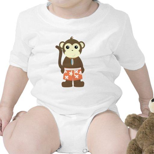 Mono de la resaca camisetas