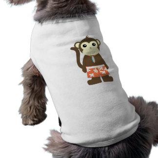 Mono de la resaca camiseta de perrito