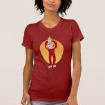 Mono de la reunión camisetas