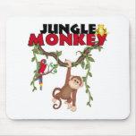 Mono de la selva alfombrilla de raton