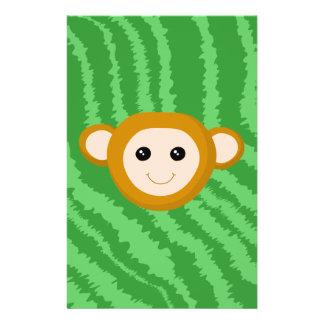Mono de la selva, cara tarjetones