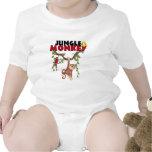 Mono de la selva trajes de bebé