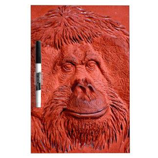 """""""Mono de la terracota"""" por Carretero L. Shepard """" Pizarras Blancas"""
