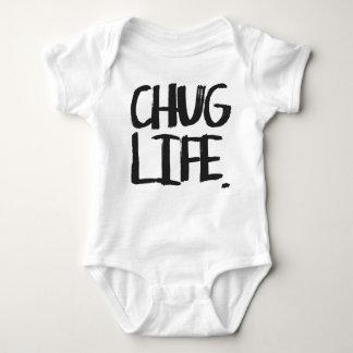 Mono de la vida del Chug Body Para Bebé