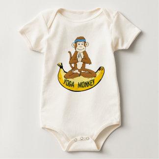 Mono de la yoga mameluco
