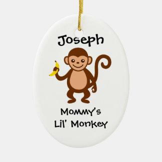 Mono de Lil de la mamá Ornamente De Reyes