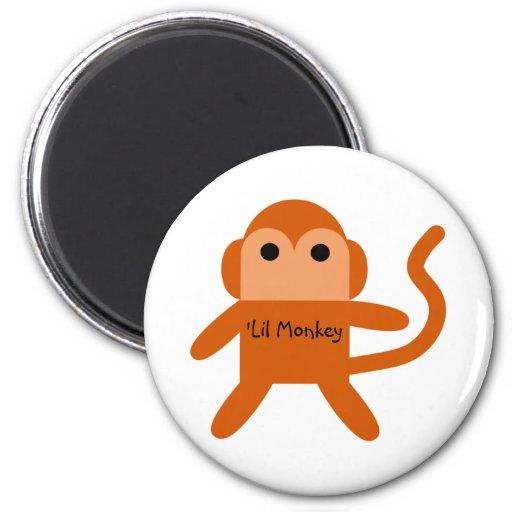 Mono de Lil Imán Redondo 5 Cm