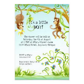 Mono de Lil, invitación de la fiesta de bienvenida