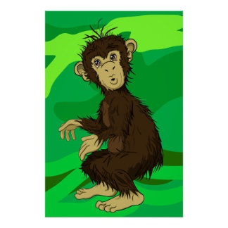 Mono de Moe Póster