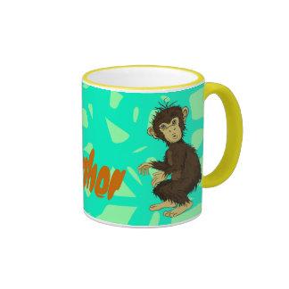 Mono de Moe Taza A Dos Colores