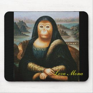 mono de Mona Tapete De Ratón