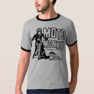 Mono de Moto (negro) Playeras
