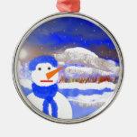 Mono de Nieve Adorno De Reyes