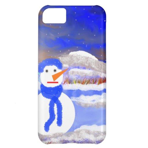 Mono de Nieve iPhone 5C Covers