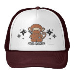 ¡Mono de Ninja! Con el gorra de Shurikens