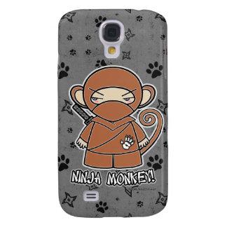 ¡Mono de Ninja! Gris del caso del iPhone 3 de Ninj