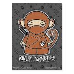 ¡Mono de Ninja! Postal