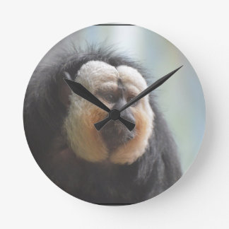 Mono de Saki Reloj Redondo Mediano