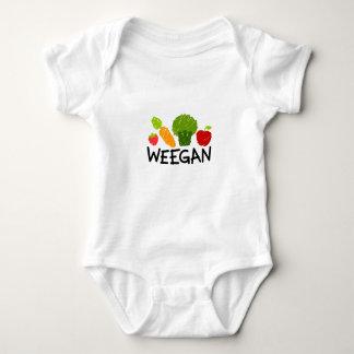 Mono de Weegan del bebé - luz Body Para Bebé