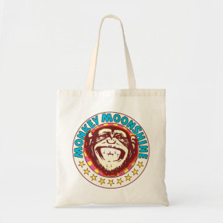 Mono del alcohol ilegal bolsa tela barata
