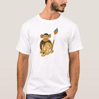 Mono del artista playera