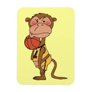 Mono del baloncesto iman rectangular