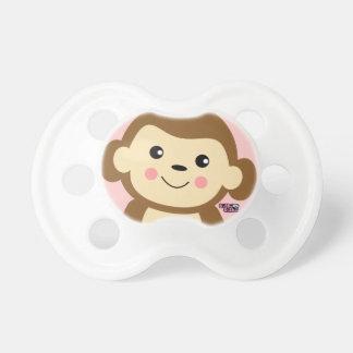 mono del bebé chupetes de bebe