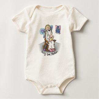 """Mono del bebé """"de la madre de hadas de dios"""" mameluco de bebé"""