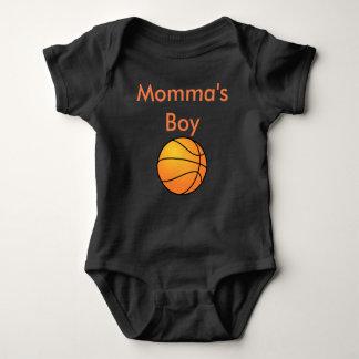 Mono del bebé del muchacho de Momma Body Para Bebé