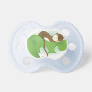 Mono del bebé el dormir chupetes para bebes