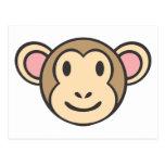 Mono del bebé tarjeta postal