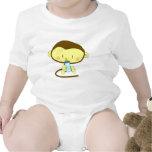 Mono del bebé trajes de bebé