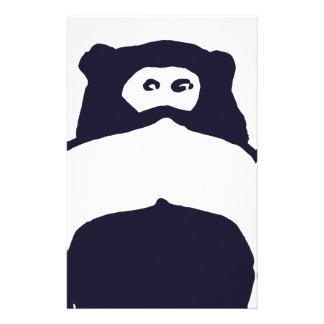Mono del bigote papeleria