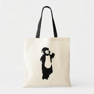 Mono del boda bolsas de mano