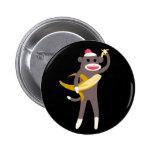 Mono del calcetín con el Pin de las espadas del pl