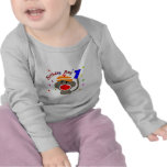 Mono del calcetín del MUCHACHO del cumpleaños de 1 Camiseta