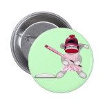 Mono del calcetín del softball pin