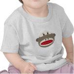 Mono del calcetín del vintage por OOPSY Camiseta