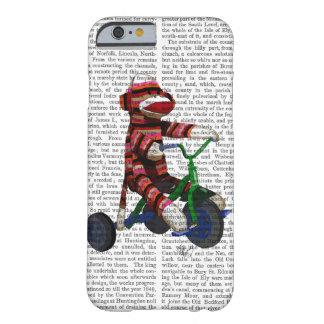 Mono del calcetín en el triciclo funda barely there iPhone 6