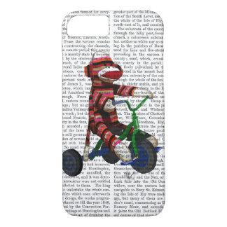 Mono del calcetín en el triciclo funda iPhone 7