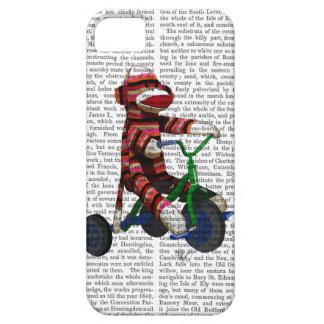 Mono del calcetín en el triciclo funda para iPhone SE/5/5s