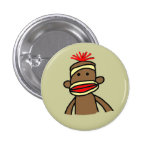 Mono del calcetín pin