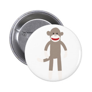 Mono del calcetín pin redondo 5 cm