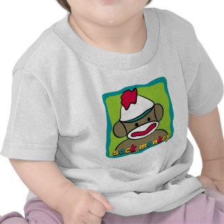 Mono del calcetín camiseta