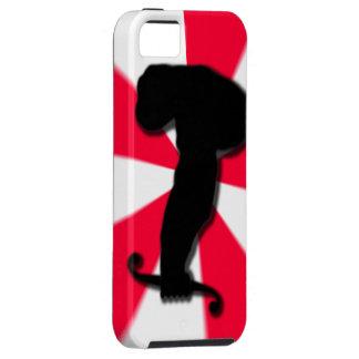Mono del cálculo funda para iPhone 5 tough